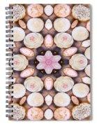 Cupcake Kaleidoscope Spiral Notebook