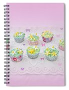 Cupcakes And Butterflies Spiral Notebook