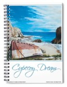 Cupecoy Dream Poster Spiral Notebook