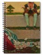 Cupid And Campaspe Spiral Notebook