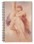 Cupid And Psyche Spiral Notebook