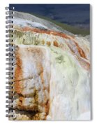 Cupid Spring At Mammoth Hot Springs Spiral Notebook