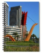 Cupid's Span At The Bay Spiral Notebook