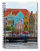 Curacao Willemstad Panorama Spiral Notebook