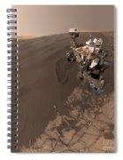 Curiosity Rover Self-portrait Spiral Notebook