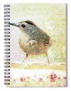 Curious Catbird Spiral Notebook