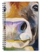 Curious Cow Spiral Notebook