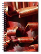 Curl Up And Die Spiral Notebook
