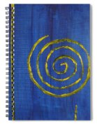 Curlicue Yellow Spiral Notebook