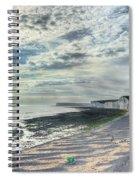 Curling Cliffs Spiral Notebook