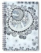 Curly Spiral Notebook