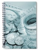 Currency Spiral Notebook