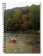 Current River 3 Spiral Notebook
