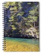 Current River 7 Spiral Notebook