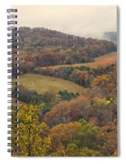 Current River Valley Near Acers Ferry Mo Dsc09419 Spiral Notebook