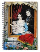 Currier: Marriage, 1848 Spiral Notebook