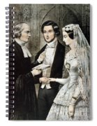 Currier: The Marriage Spiral Notebook
