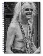 Curt 2 Bw Spiral Notebook