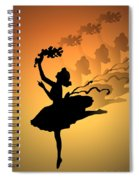Curtain Call Spiral Notebook
