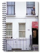 Curtain Twitcher Spiral Notebook