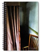Curtains Closed Spiral Notebook
