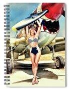 Curtis P-40 Warhawk Spiral Notebook