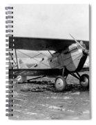 Curtiss P-1 Hawk,1925 Spiral Notebook