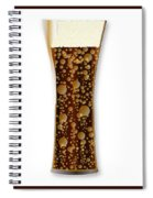 Curved Cola Glass Spiral Notebook