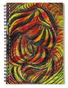 Curved Lines 2 Spiral Notebook