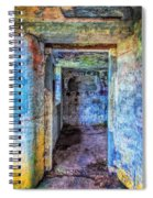 Curved Passageway Spiral Notebook