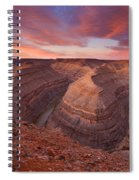 Curves Ahead Spiral Notebook