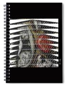 Curves And Triangles Spiral Notebook