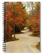 Curvy Fall Spiral Notebook