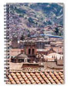Cusco Cityscape Spiral Notebook