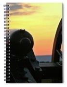 Cushing's Battery Spiral Notebook