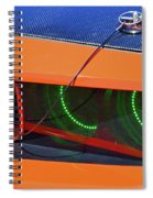 Custom 2009 Dodge Challenger Spiral Notebook