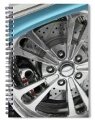Custom Car Wheel Spiral Notebook
