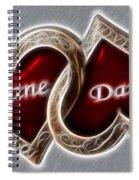 Custom Hearts Spiral Notebook