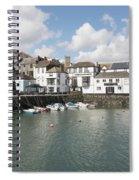 Custom House Quay And Falmouth Parish Church Spiral Notebook