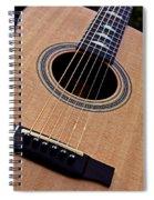 Custom Made Guitar Spiral Notebook