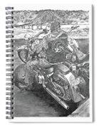 Custom Riders Spiral Notebook