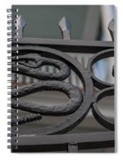 Custom Snake Gate Spiral Notebook