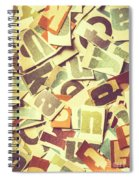 Cut Copy Spiral Notebook