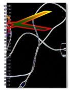 Cut The Mouse Spiral Notebook