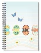 Cute Birds Spiral Notebook