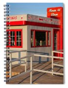 Cute Little Route 66 Diner Spiral Notebook