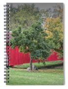 Cutler-donahoe Covered Bridge Spiral Notebook