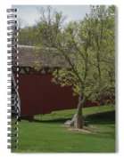 Cutler - Donahoe Covered Bridge - Madison County - Iowa Spiral Notebook