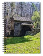 Cuttalossa Mill In The Springtime Spiral Notebook