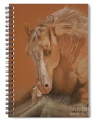 Cutting Horse Spiral Notebook